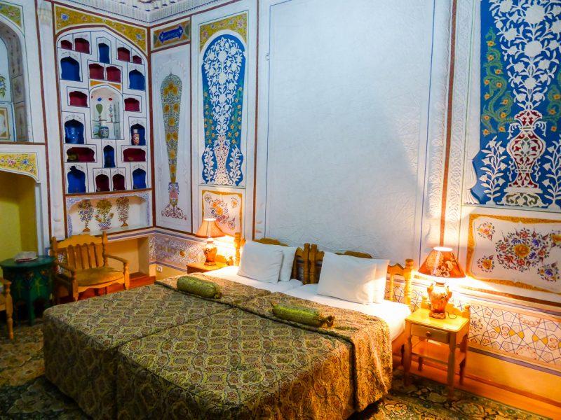 Hotel in Bukhara, Oezbekistan