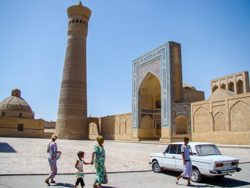 Kalon Mosque in Bukhara, Oezbekistan