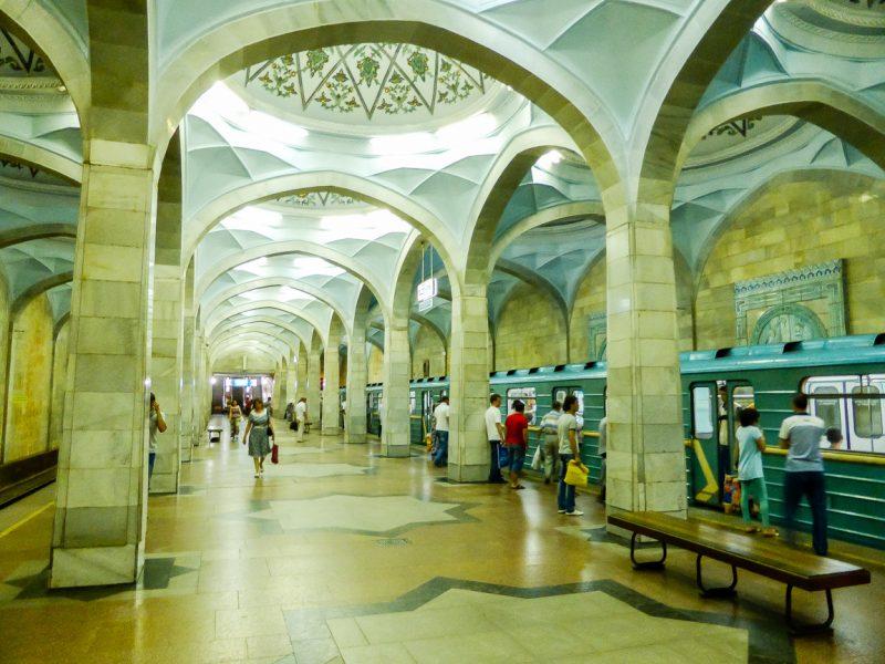 Metro in Tashkent, Oezbekistan