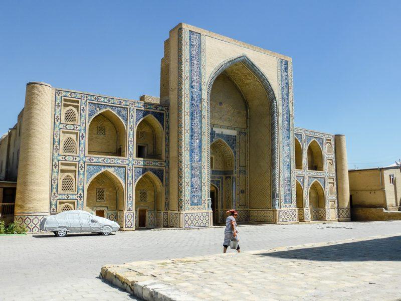 Oude gebouwen in Bukhara, Oezbekistan