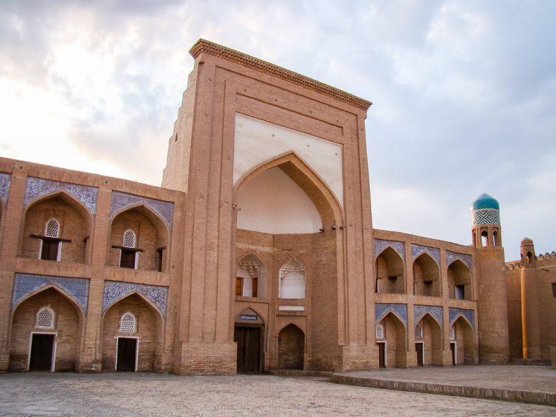 Oude medressa in Khiva, Oezbekistan
