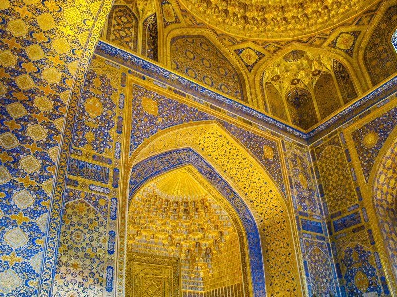 Pracht en praal in Samarkand, Oezbekistan