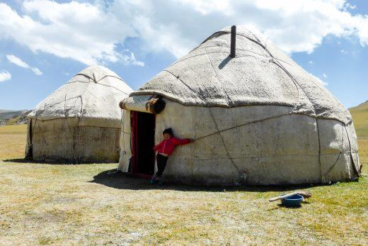 Reizen door Kirgizië in Centraal Azië (26)