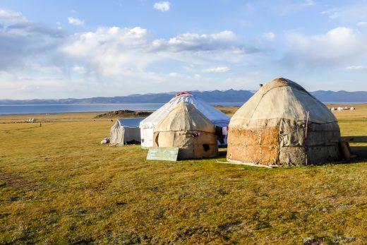 Reizen door Kirgizië in Centraal Azië (30)