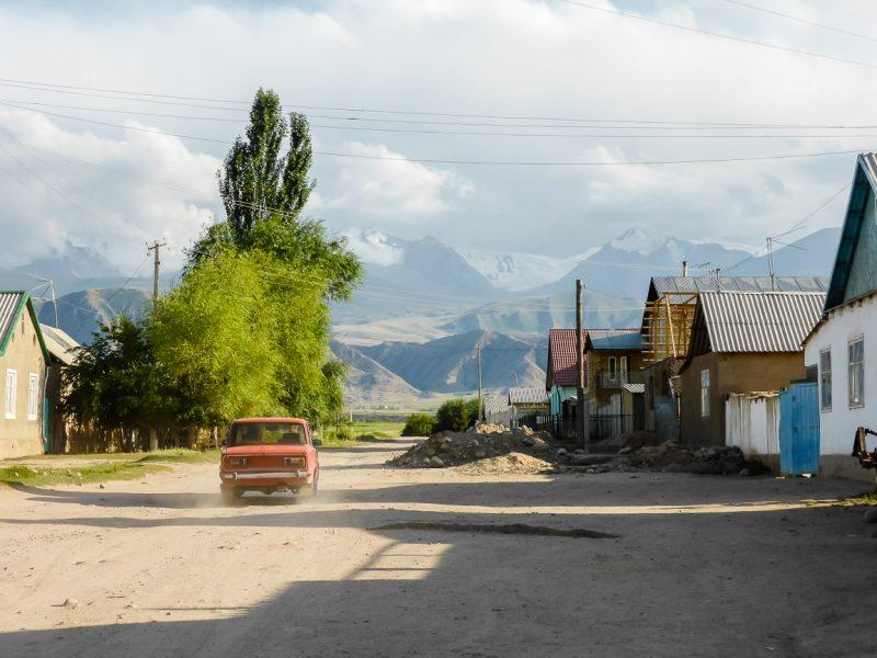 Reizen door Kirgizië in Centraal Azië (43)