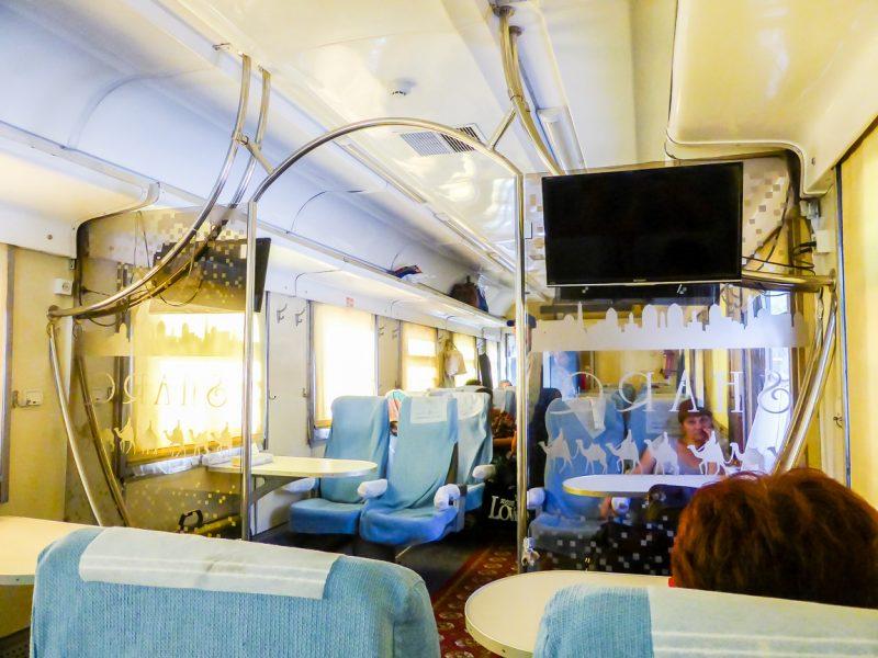 Reizen per trein in Oezbekistan