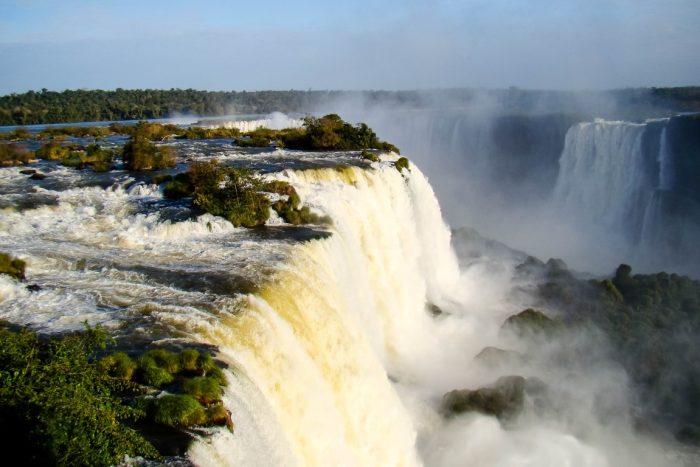 Foz do Iguazu Falls Watervallen, Brazilië