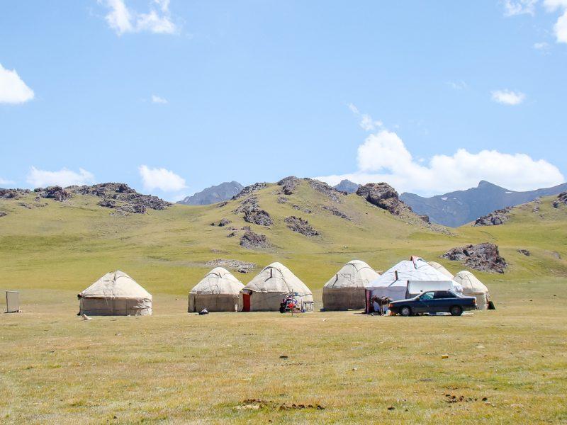 Reizen door Kirgizië in Centraal Azië (1)