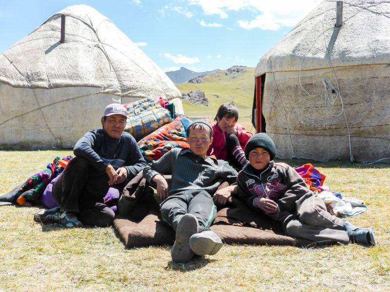 Reizen door Kirgizië in Centraal Azië (27)