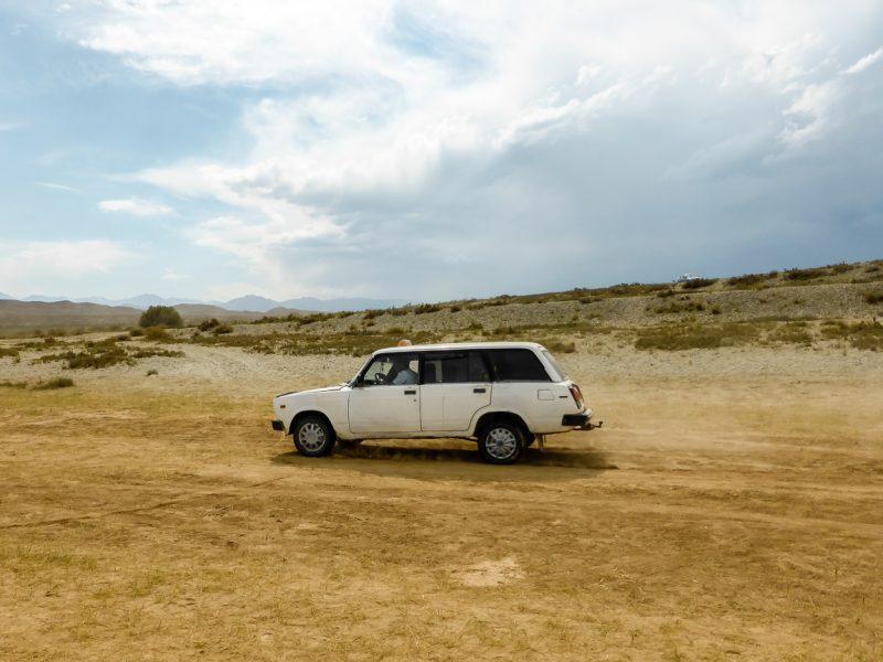 Reizen door Kirgizië in Centraal Azië (40)