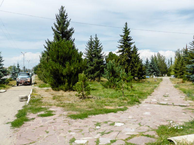Reizen door Kirgizië in Centraal Azië (50)