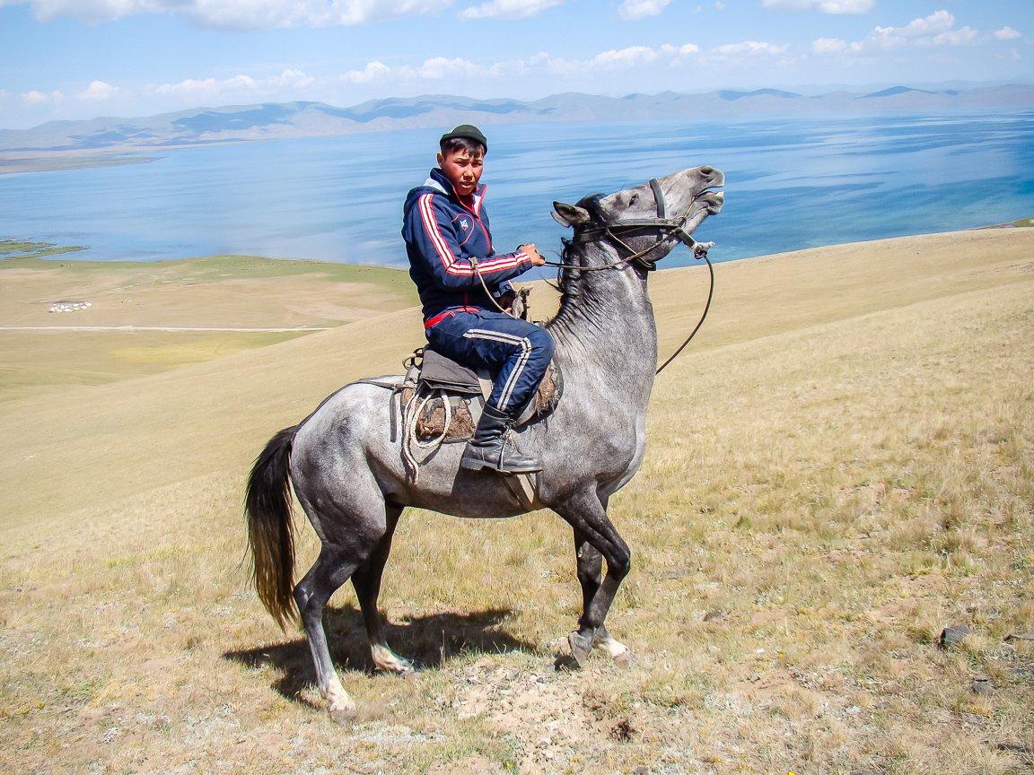Reizen door Kirgizië in Centraal Azië (7)