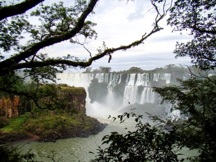 Watervallen van Foz do Iguazu Falls, Brazilië