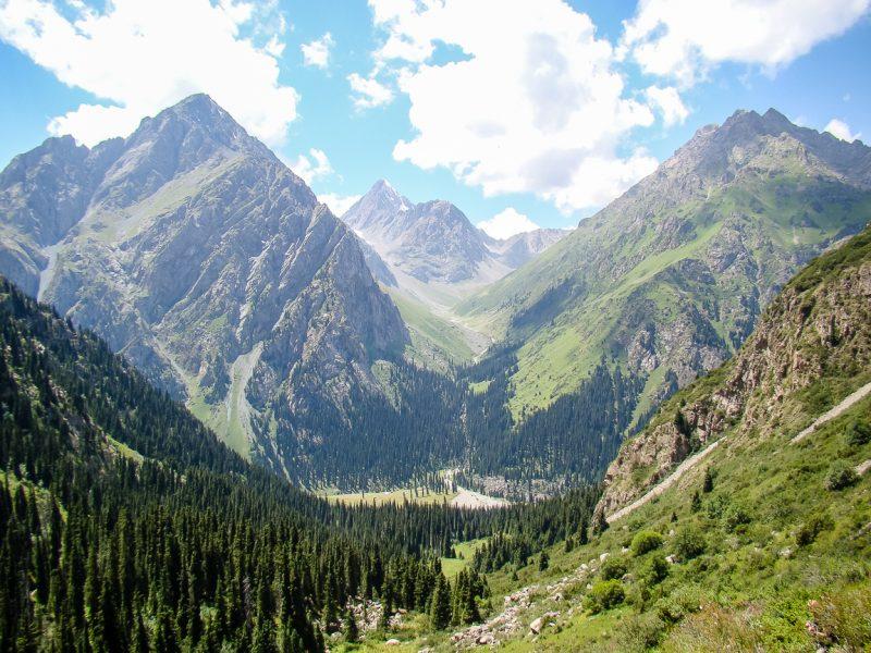 Reizen door Kirgizië in Centraal Azië (12)