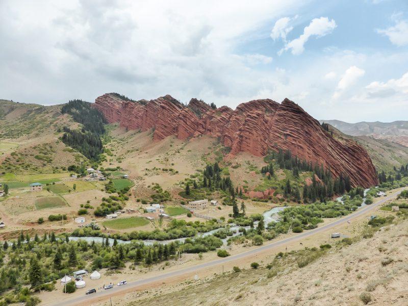 Reizen door Kirgizië in Centraal Azië (52)
