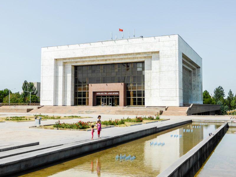 Reizen door Kirgizië in Centraal Azië (58)