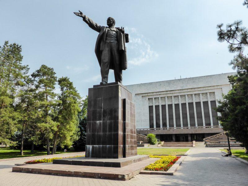 Reizen door Kirgizië in Centraal Azië (60)