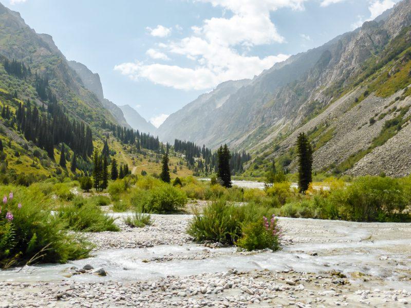 Reizen door Kirgizië in Centraal Azië (64)