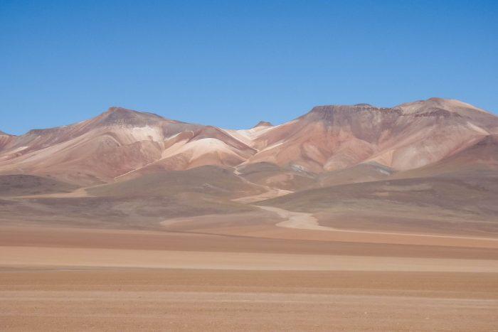Desierto de Dali bij Uyuni, Bolivia