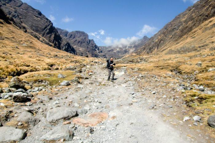 Het Incapad El Choro trail, Bolivia