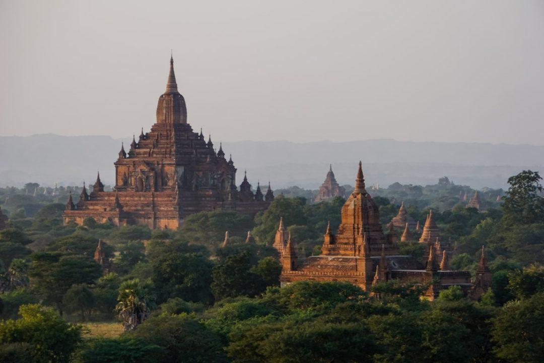 Pyathada paya in Bagan, Myanmar