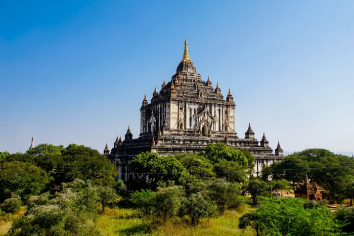 Thatbyinnyu tempel in Bagan, Myanmar