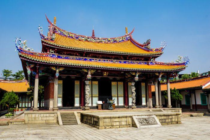 Confucius Tempel in Taipei, Taiwan