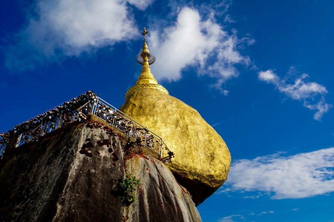 De Kyaiktyo Golden Rock, Myanmar