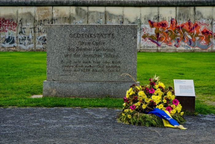 Gedenkteken slachtoffers DDR in Berlijn, Duitsland