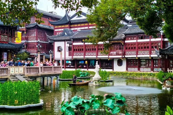 Old Town in Shanghai, China