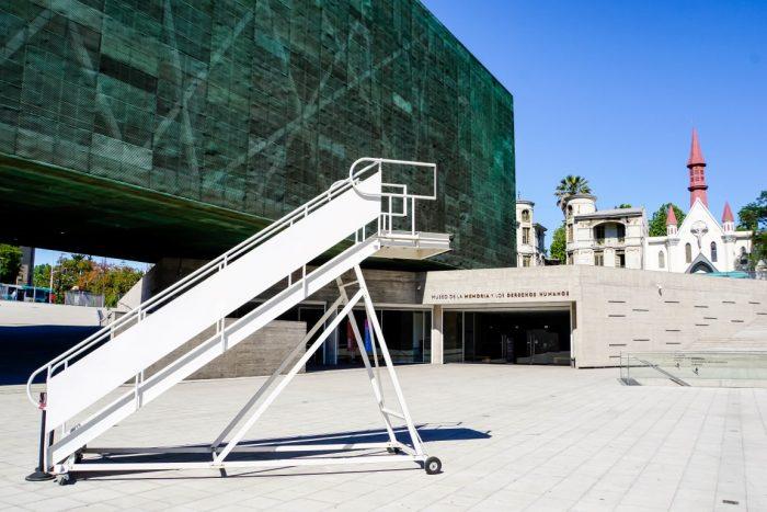 Het Museo de la Memoria y lo Derechos Humanos in Santiago de Chile, Chili