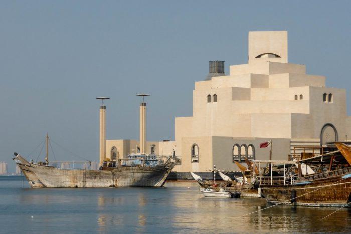 Het Museum of Islamic Arts in Doha, Qatar