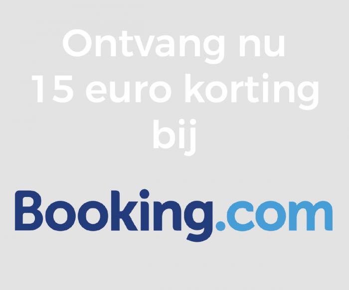 Korting bij Booking