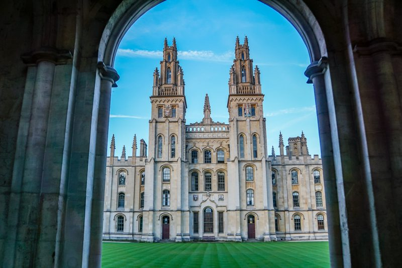 All Souls College in Oxford, Engeland