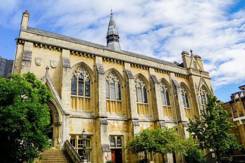 Het Balliol College in Oxford, Engeland