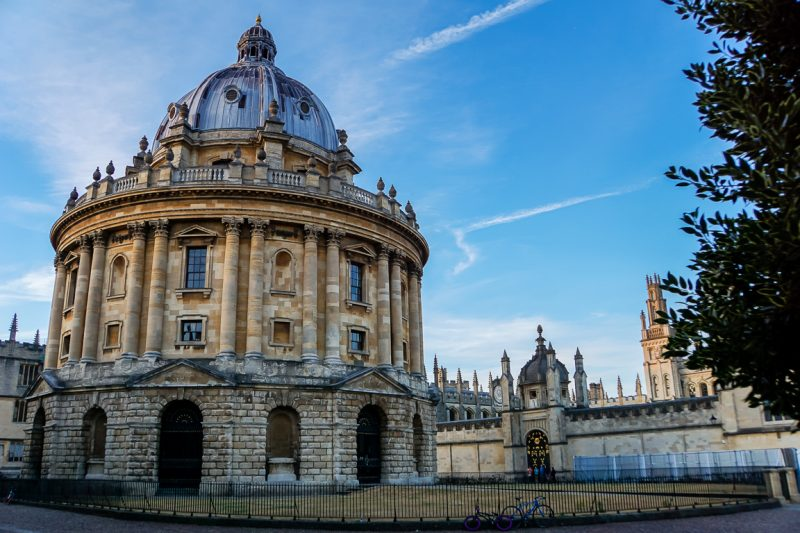 Radcliffe Camera in Oxford, Engeland