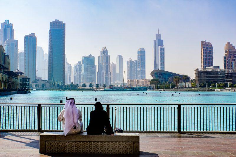 De Dubai Fountains, Dubai