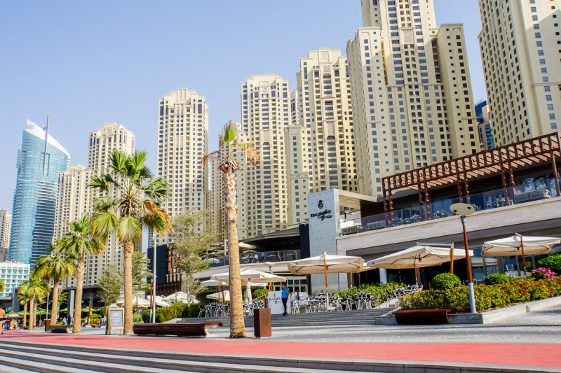 Restaurants op JBR Beach, Dubai
