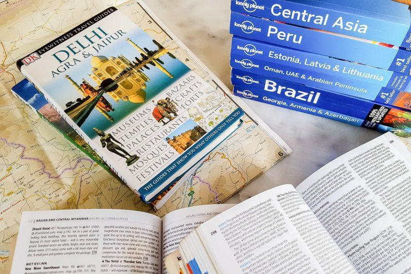 Vergelijking reisgidsen - Beste Reisgids Vergelijking