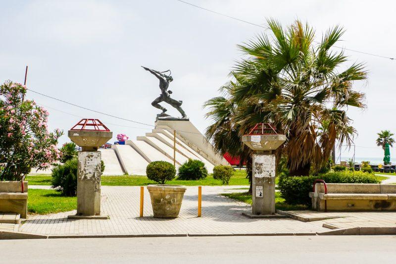 Boulevard Durrës, Albanië