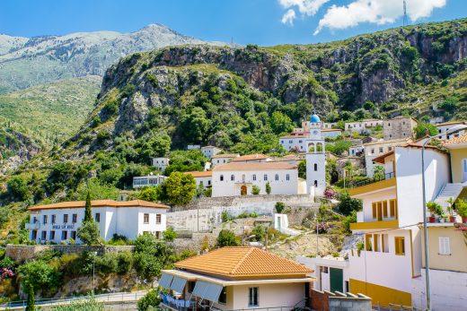 Dhermi, Albanië