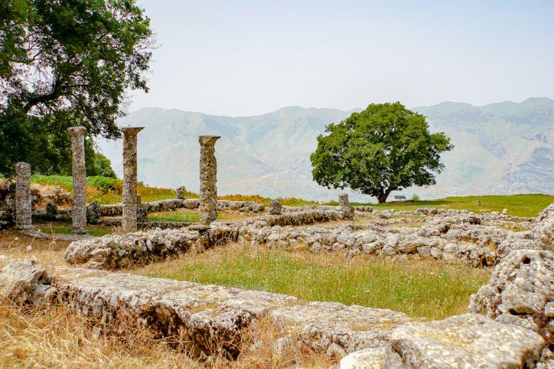 Het Parku Arkeologjik Antigone in Antigonea, Albanië