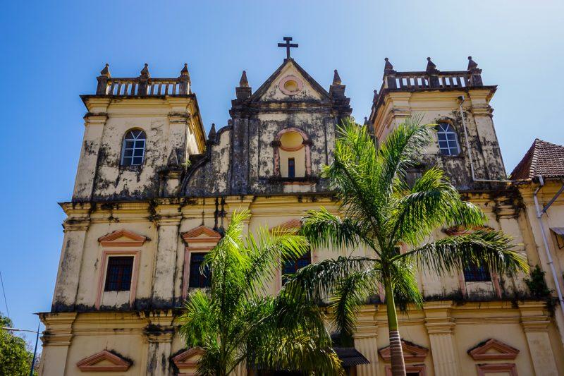 Het Portugese verleden in Panjim en Oud Goa, India