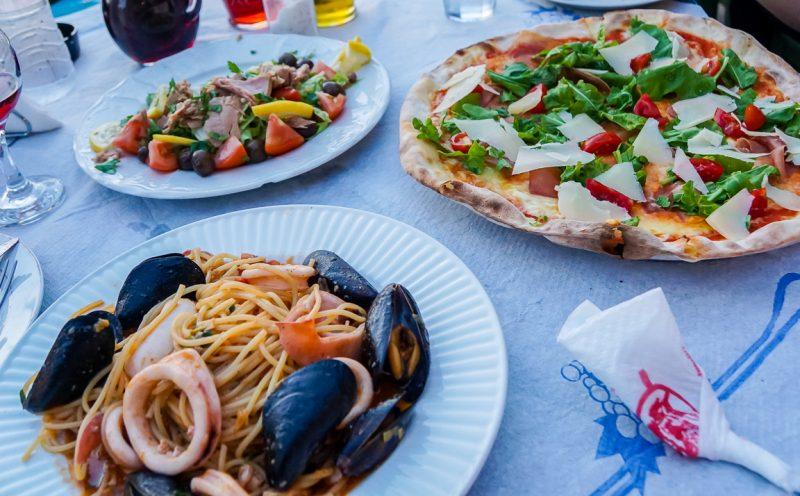 Italiaanse keuken in Albanië