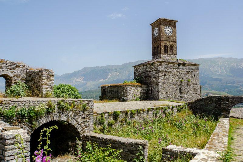 Kasteel van Gjirokaster, Albanië