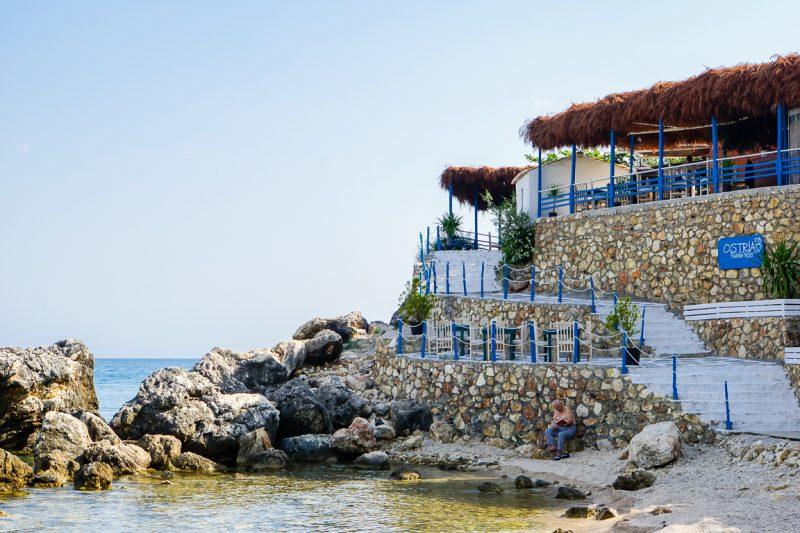 Livadh beach, Albanië