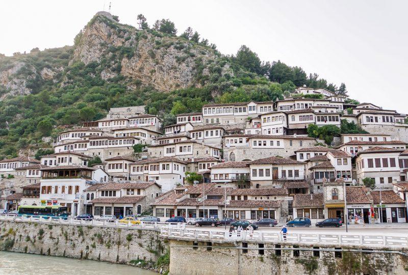 Uitzicht op Beirat, Albanië