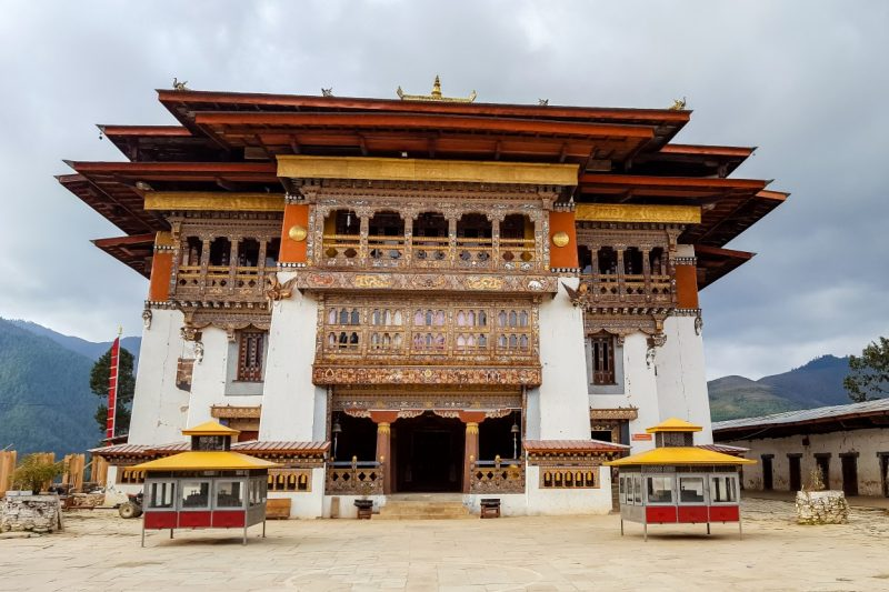 Gangtey Goempa, Bhutan