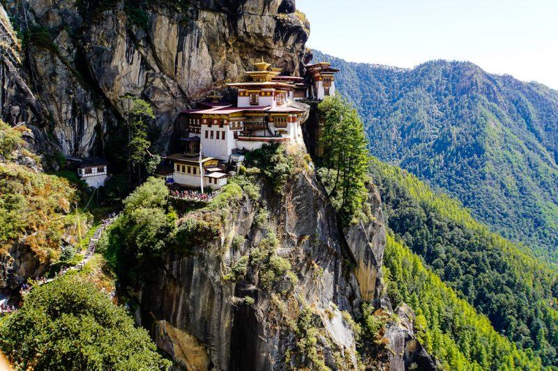 Wandelen naar Tiger's Nest, Bhutan