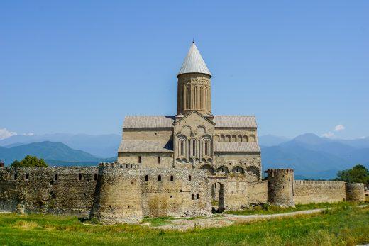 Alaverdi klooster in Kakheti, Georgië